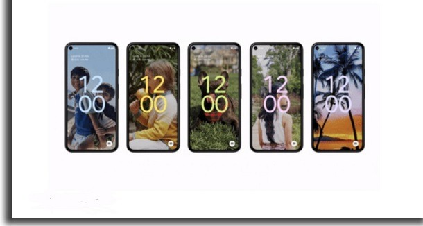 android 12 novidades