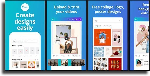 Canva photo collage apps