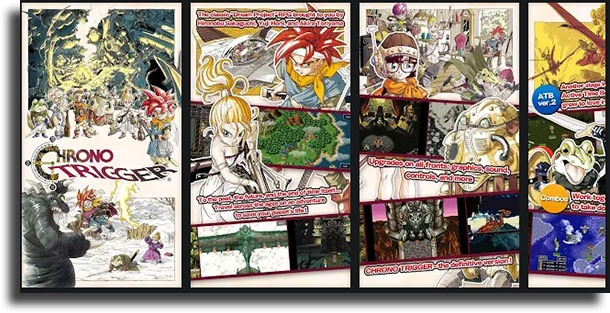 Chrono Trigger classic games on Android