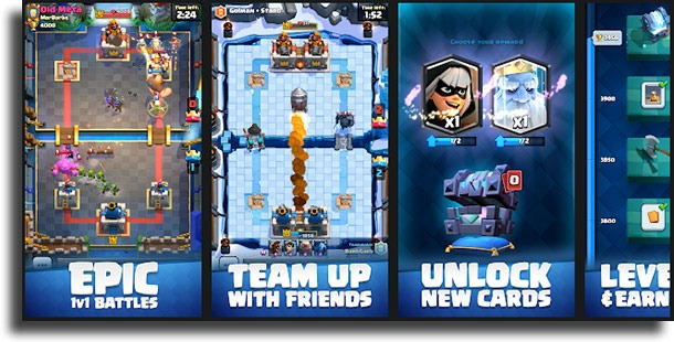 Clash Royale best competitive Android games