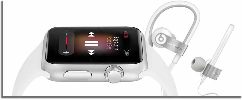 escuchar música apple watch