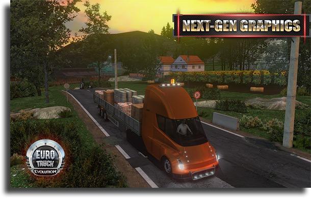 Euro Truck Evolution best online truck games