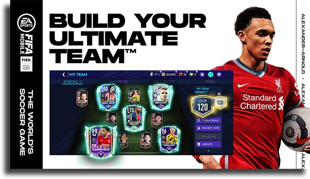 FIFA Soccer best competitive Android games