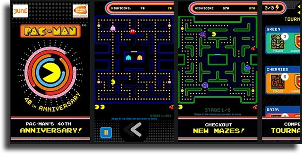 Pac-Manclassic games on Android