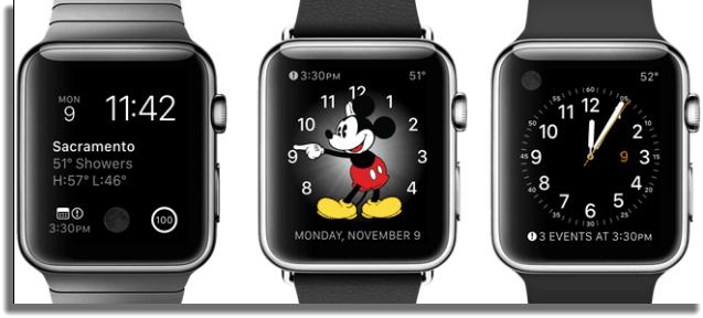 personalizar pantalla reloj apple
