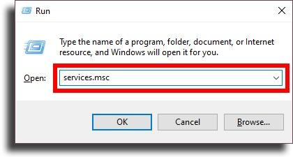 Run window disable Chrome automatic updates