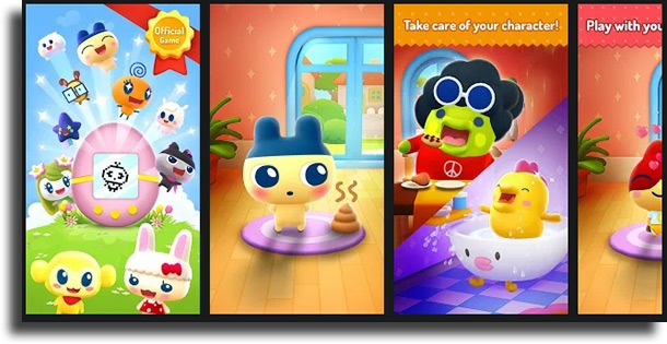 My Tamagotchi Forever classic games on Android