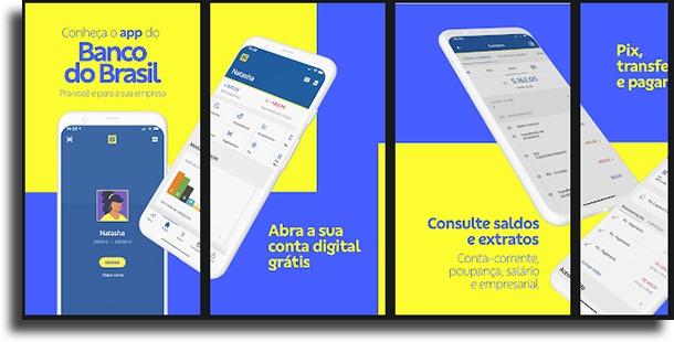 Banco do Brasil Aplicativos de bancos que aceitam PIX