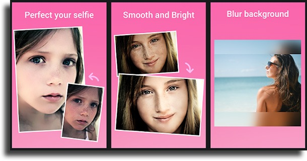 Beauty Camera wrinkle remover apps for Android
