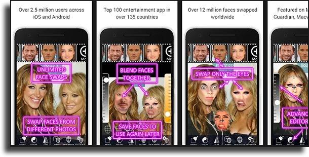 Face Swap Booth – Face Changer apps que transformam em homem