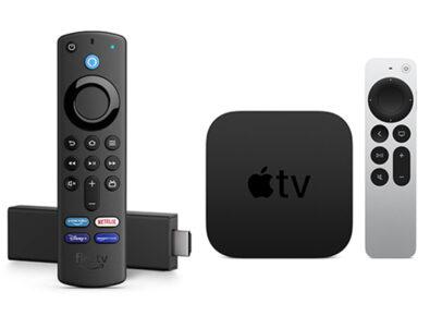 Cover Apple TV vs Fire TV
