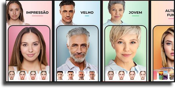 FaceApp apps que transformam em homem