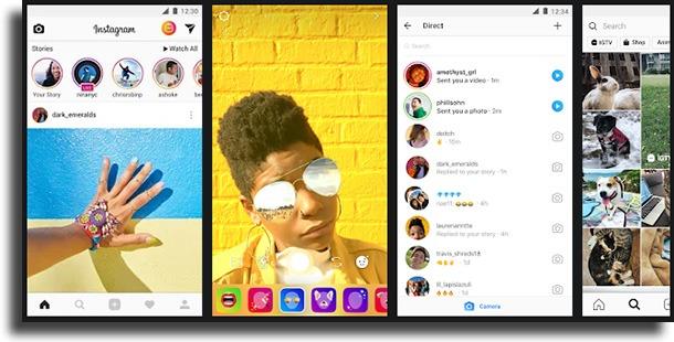 Instagram apps que transformam em homem