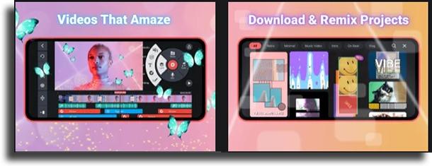 KineMaster free video editing apps