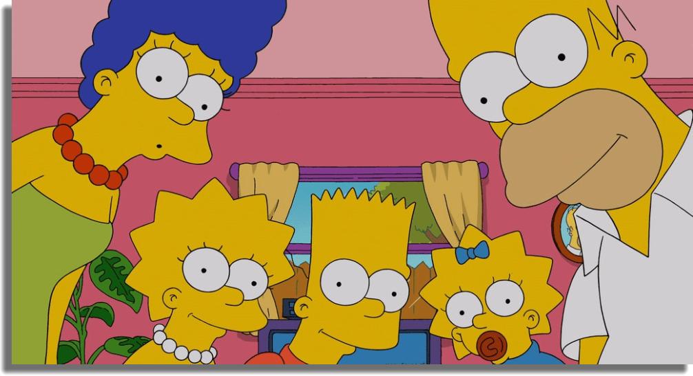 Los Simpson series de comedia
