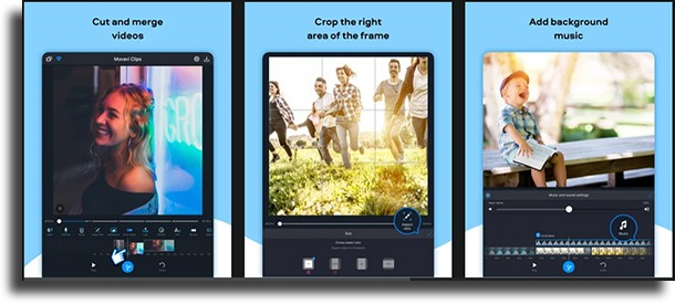 Movavi Clips free video editing apps