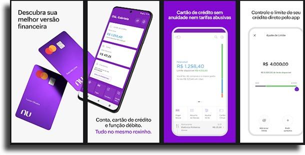 Nubank Aplicativos de bancos que aceitam PIX