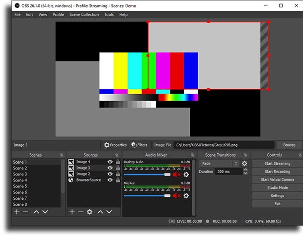 OBS screen recorders for Linux