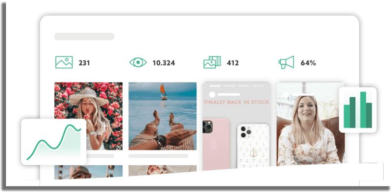 Squarelovin herramientas de estadísticas de Instagram