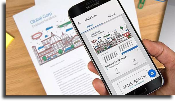 Adobe Scan best photo to PDF apps