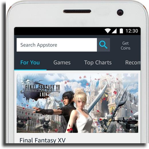 Amazon AppStore alternative Android app stores