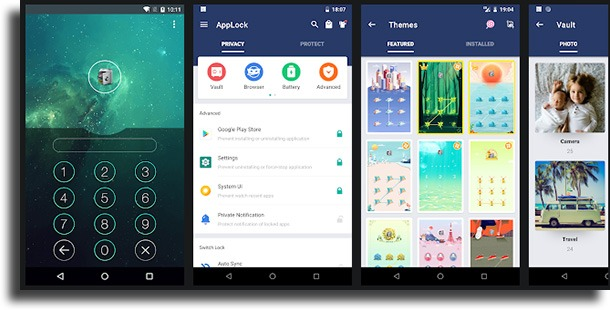 AppLock Android apps for WhatsApp