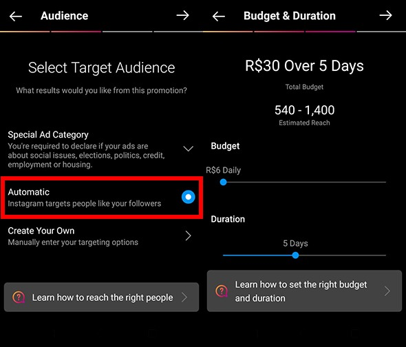 Audience, Budget, and Duration