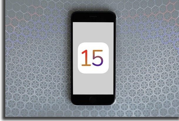 atualização do iOS 15