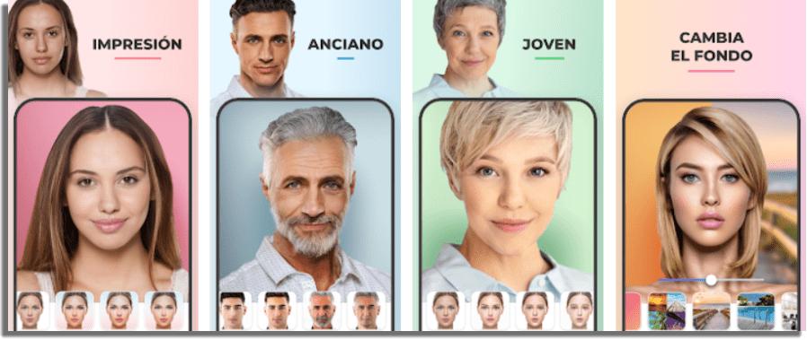 FaceApp apps que te convierten en hombre o mujer