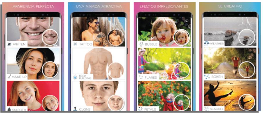 Fotogenic aplicaciones para mejorar la calidad de las fotos