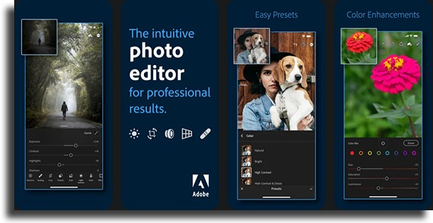 Adobe Lightroom CC apps to make pictures look better
