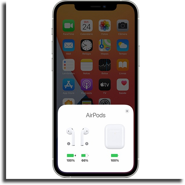 charging icon AirPods only charge one side