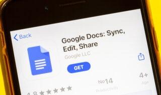 destaque ver o histórico de edição no Google Docs