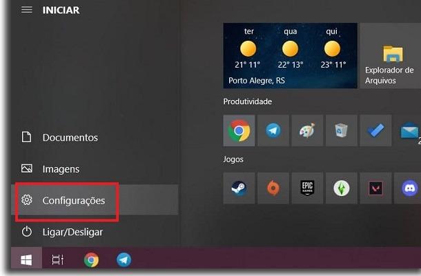 instalar o windows 11 configurações