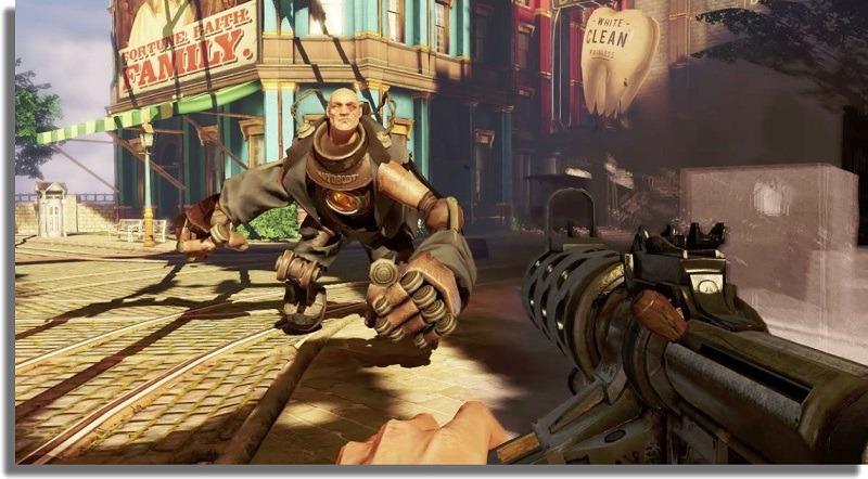 BioShock Infinite mejores shooters para PC