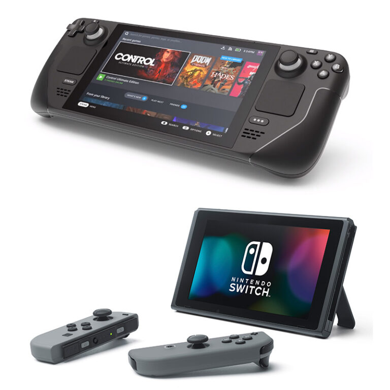 Steam Deck vs Nintendo Switch: which one is the best option?