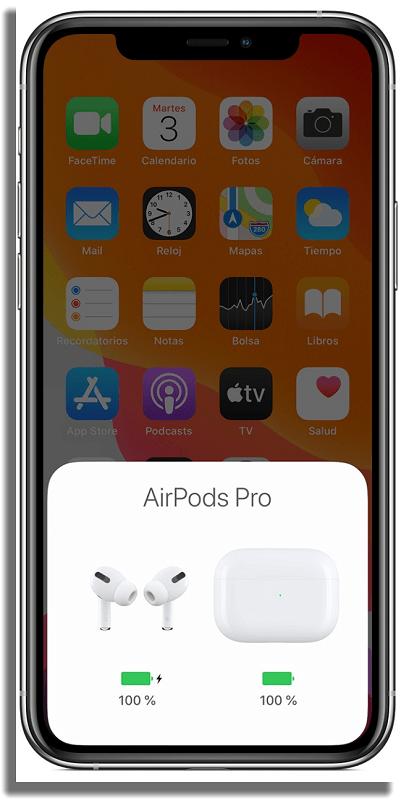 airpods apple carga