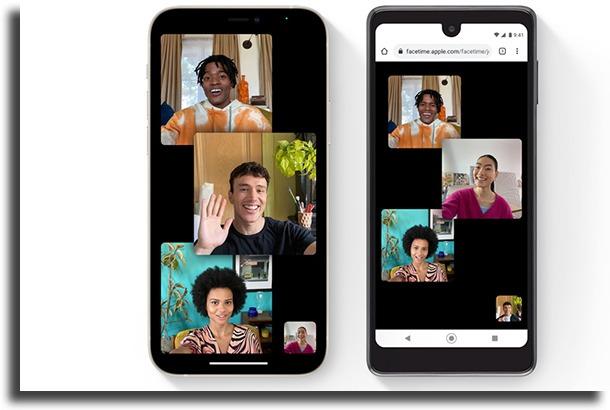 Mudança no FaceTime novidades do iOS 15