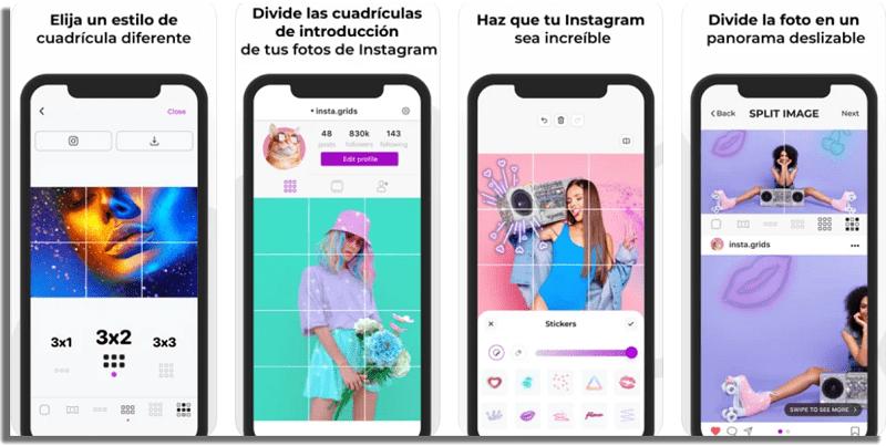 InstaGrids publicaciones para tener éxito en Instagram