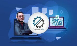 cursos grátis da Udemy duplicator pro wordpress