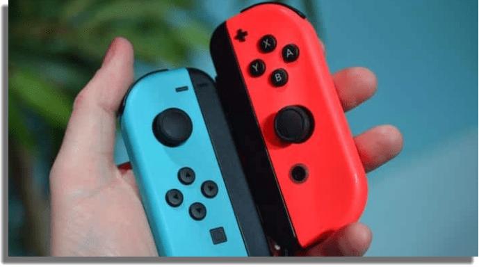 controles nintendo switch