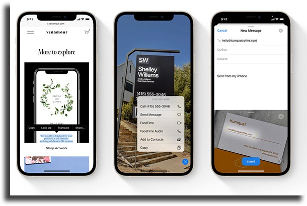 Live text What's new on iOS 15