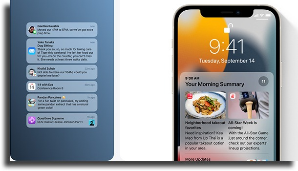 Notifications What's new on iOS 15