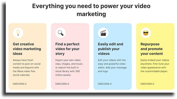 Wave.video Mac video editors