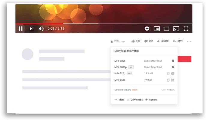Extensões Google Chrome para baixar vídeos do YouTube Addoncrop