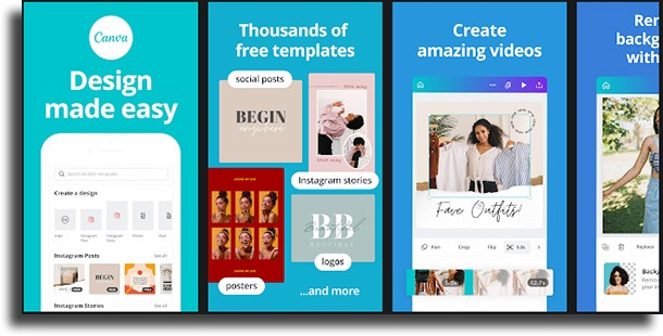Canva most used photo apps