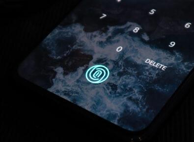 cover set up fingerprint on android