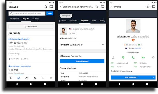 Freelancer.com best apps to make money