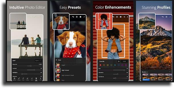 Adobe Lightroom most used photo apps