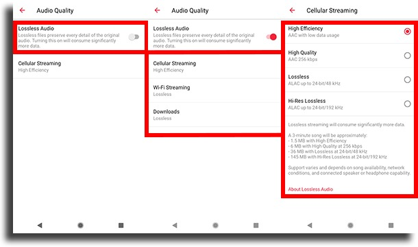 choose quality android